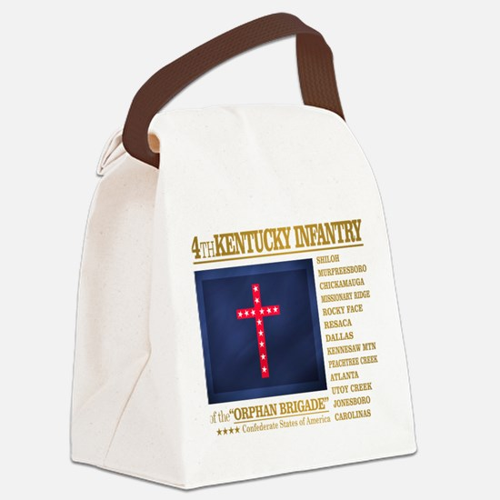 4th Kentucky Infantry Canvas Lunch Bag