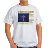 4th kentucky infantry relaxed fit Light T-Shirt