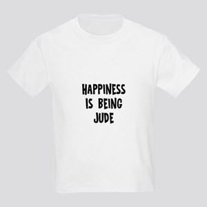 Happiness is being Jude Kids Light T-Shirt