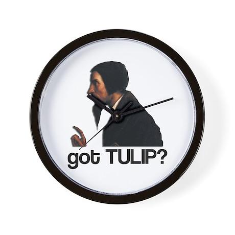 got TULIP? Wall Clock