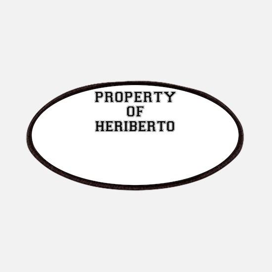Property of HERIBERTO Patch