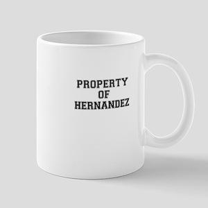 Property of HERNANDEZ Mugs