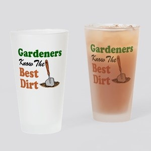 Gardeners Know The Best Dirt Drinking Glass