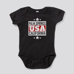 Palm Springs California USA Baby Bodysuit