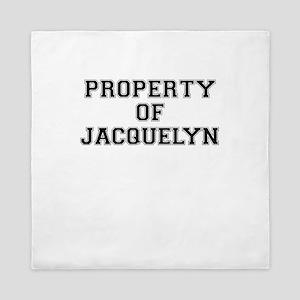 Property of JACQUELYN Queen Duvet
