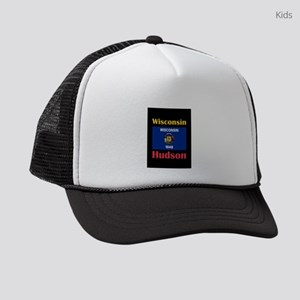 Hudson Wisconsin Kids Trucker hat