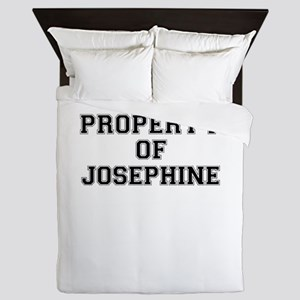 Property of JOSEPHINE Queen Duvet