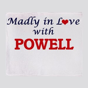Madly in love with Powell Throw Blanket