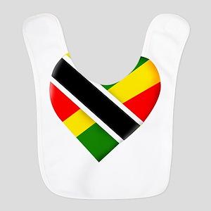 Trini-Jamaican Polyester Baby Bib