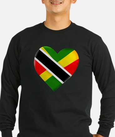 Trini-Jamaican Long Sleeve T-Shirt
