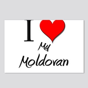 I Love My Moldovan Postcards (Package of 8)