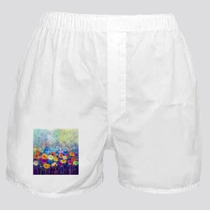 Floral Painting Boxer Shorts