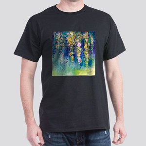 Floral Painting Dark T-Shirt