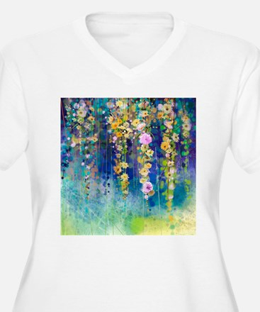Floral Painting T-Shirt