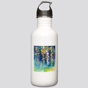 Floral Painting Stainless Water Bottle 1.0L