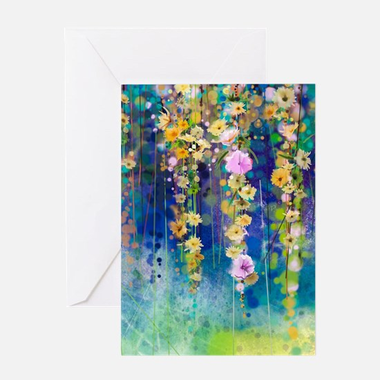 Floral Painting Greeting Card