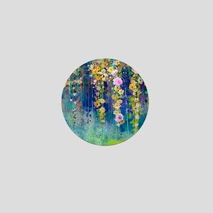 Floral Painting Mini Button