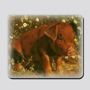 Duroc Pig Mousepad
