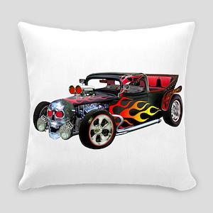 Hot Rod Terrifier Everyday Pillow