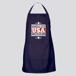 Kansas City Missouri USA Apron (dark)