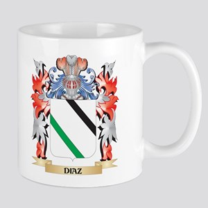 Diaz Coat of Arms - Family Crest Mugs
