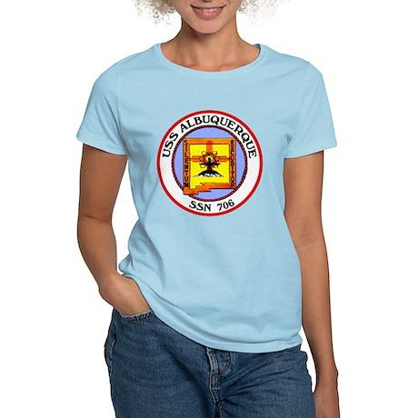 USS Albuquerque SSN 706 Women's Light T-Shirt