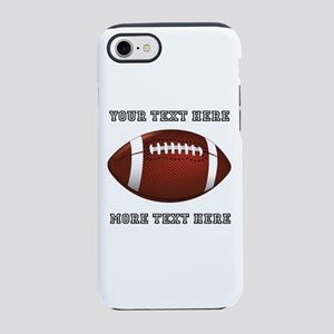 Personalized Football iPhone 8/7 Tough Case