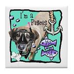 I'm a Pisces Tile Coaster