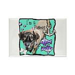 I'm a Pisces Rectangle Magnet (100 pack)