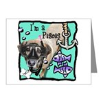 I'm a Pisces Note Cards (Pk of 10)
