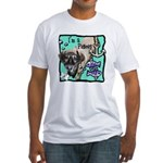 I'm a Pisces Fitted T-Shirt