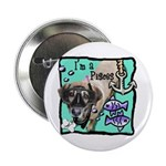"""I'm a Pisces 2.25"""" Button (100 pack)"""