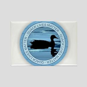 Quack Lives Matter Magnets