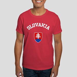 Slovakia Coat of Arms Dark T-Shirt