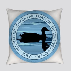 Quack Lives Matter Everyday Pillow