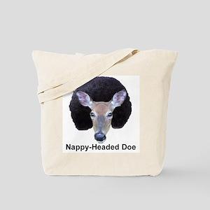 Nappy Headed Doe Tote Bag