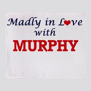 Madly in love with Murphy Throw Blanket