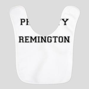 Property of REMINGTON Polyester Baby Bib