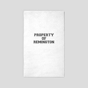 Property of REMINGTON Area Rug