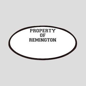 Property of REMINGTON Patch