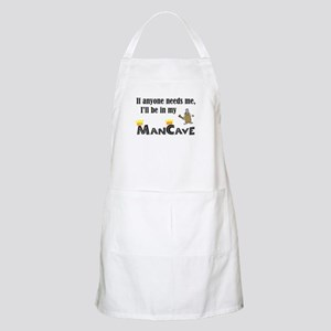 I'll be in my ManCave BBQ Apron