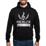 Drumline Band Drummer Hoodie