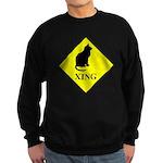 Cat Crossing Sweatshirt