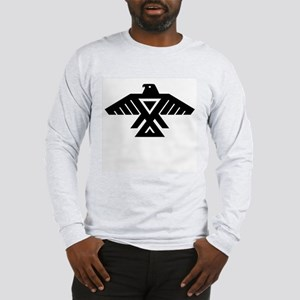 Anishinaabe Thunderbird flag Long Sleeve T-Shirt