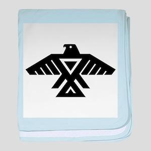 Anishinaabe Thunderbird flag baby blanket