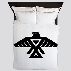 Anishinaabe Thunderbird flag Queen Duvet