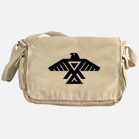 Anishinaabe Thunderbird flag Messenger Bag