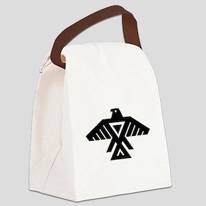 Anishinaabe Thunderbird flag Canvas Lunch Bag