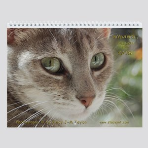 StacyJMT MyPaws Cat 2008 Wall Calendar