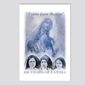 100 Years Of Fatima Postcards (package Of 8)